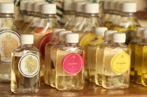 pure tree natural body products line from Up in the hill in bocas del toro