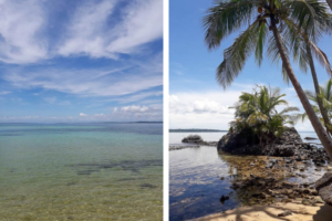Activities from Up in the Hill include visiting two beautiful beaches.